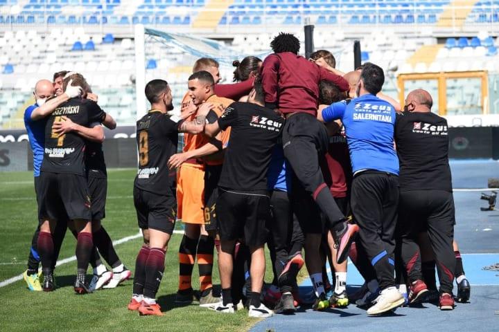 Pescara Calcio v US Salernitana - Serie B