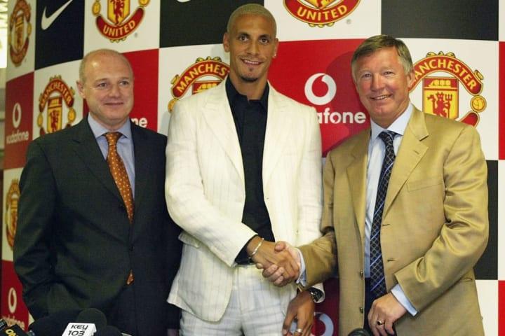 Ferdinand couldn't turn down the advances of Sir Alex Ferguson