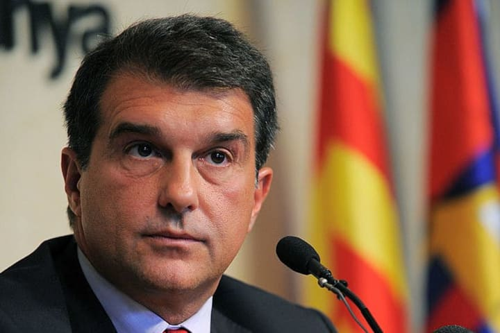 Joan Laporta is looking to become Barcelona president for the second time
