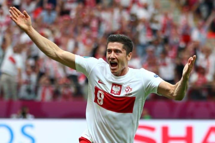 Robert Lewandowski at Euro 2012