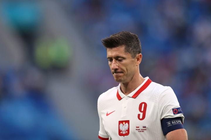 Robert Lewandowski Polônia Espanha Sábado Eurocopa