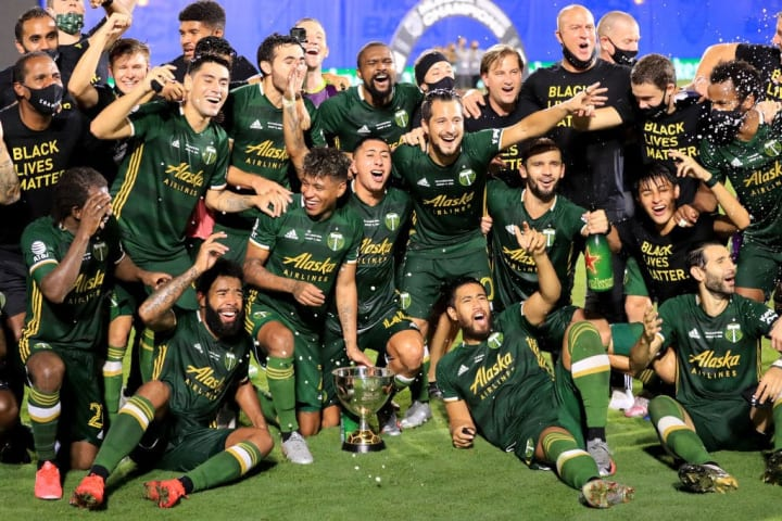 Portland Timbers v Orlando City SC: Championship - MLS Is Back Tournament