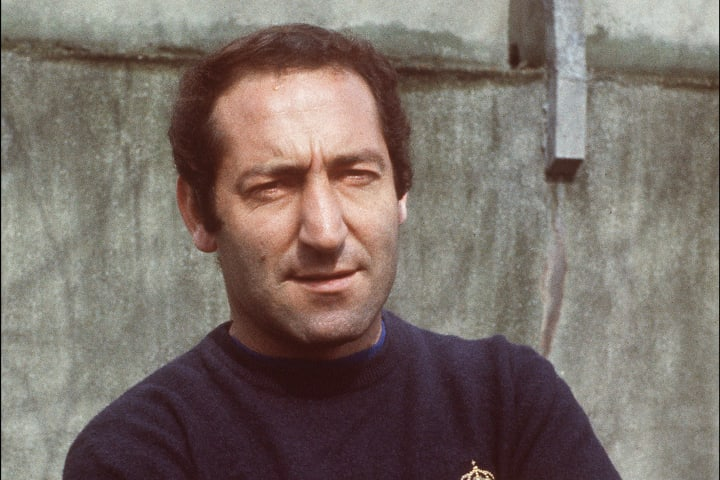 Portrait of Real Madrid's forward Francisco Gento