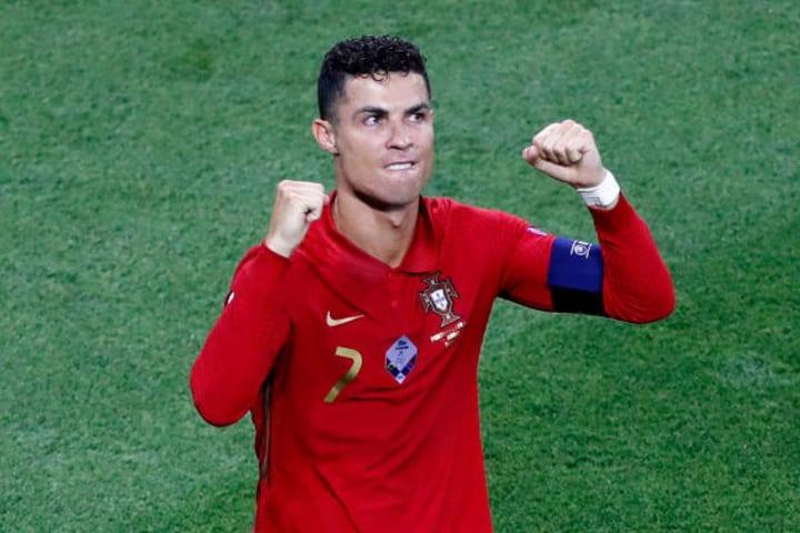 Cristiano Ronaldo put Portugal ahead
