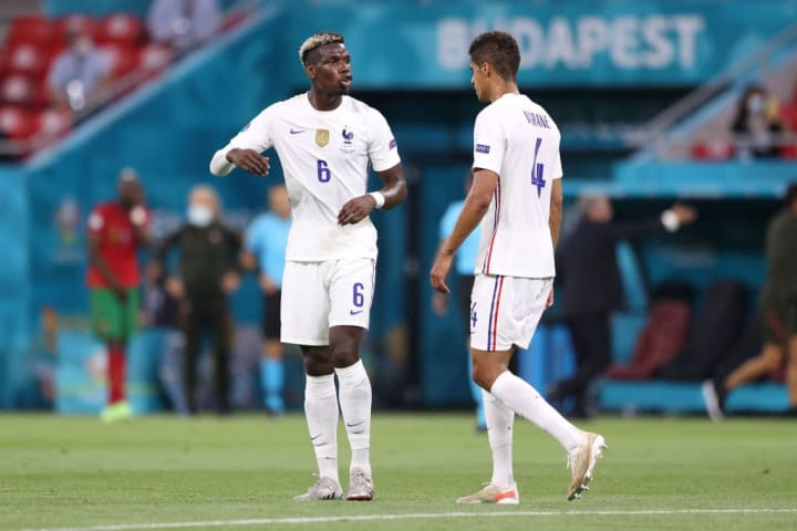 Paul Pogba is excited to link up with countryman Raphael Varane