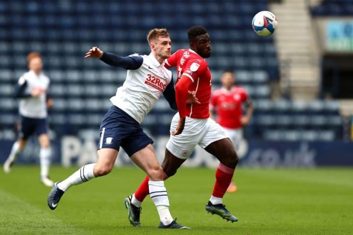 Barnsley suffered defeat at Preston