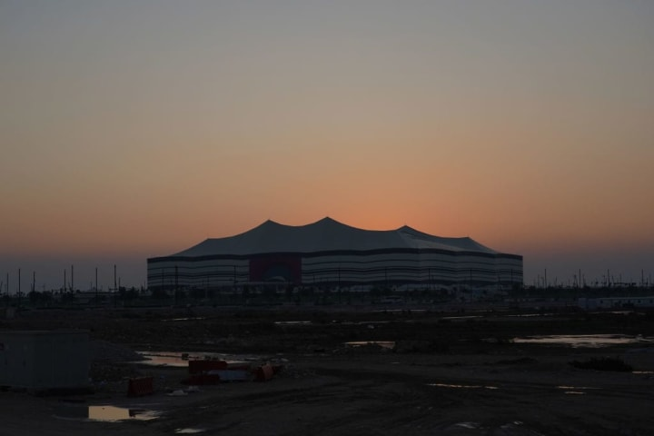 One of the stadia for the 2022 World Cup