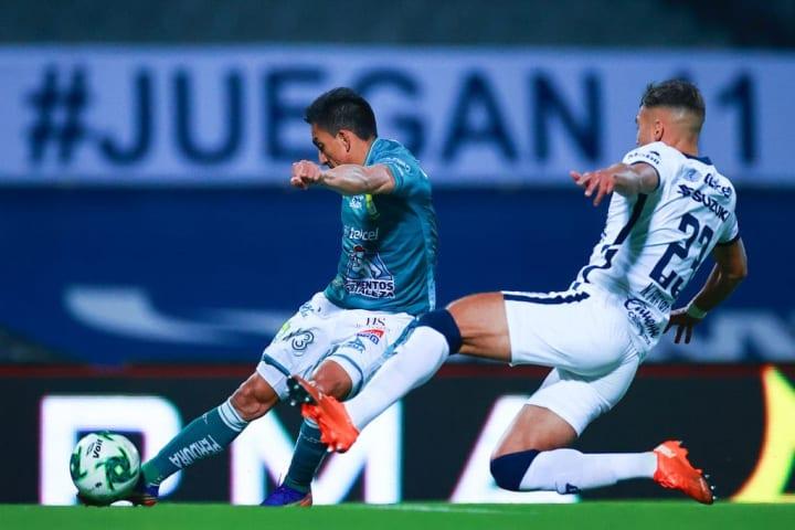 El jugador Ángel Mena.
