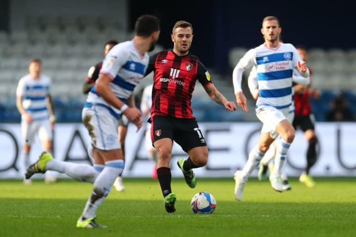Jack Wilshere was unable to prevent defeat at QPR