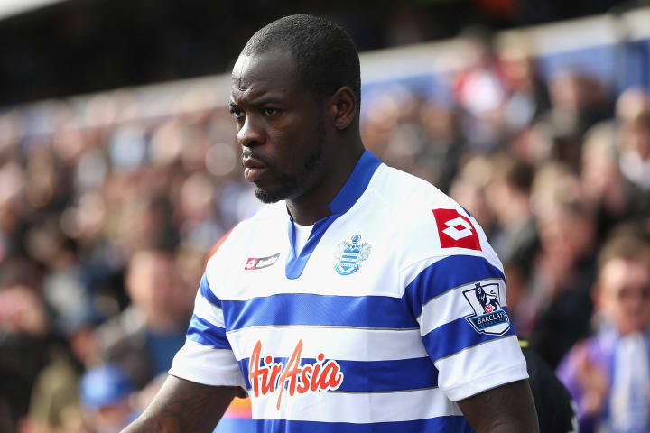 Christopher Samba secured a big-money move to Anzhi Makhachkala following QPR's relegation