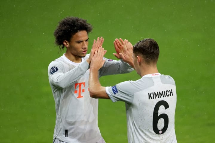 Sane came off the bench to score for Bayern