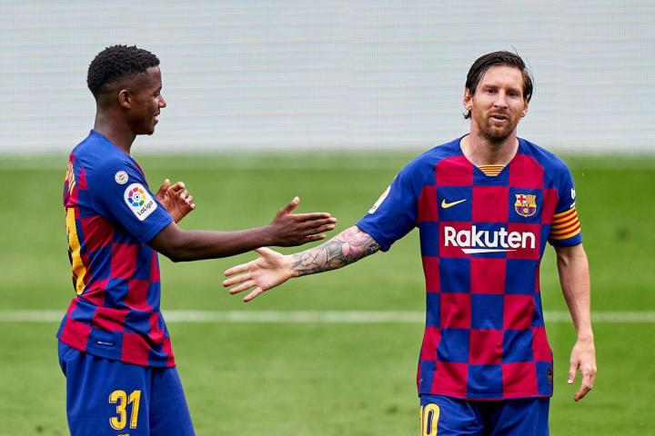 Lionel Messi, Ansu Fati