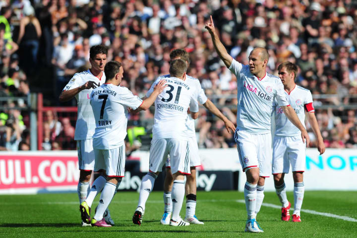 Robben and Bayern were ruthless against St Pauli