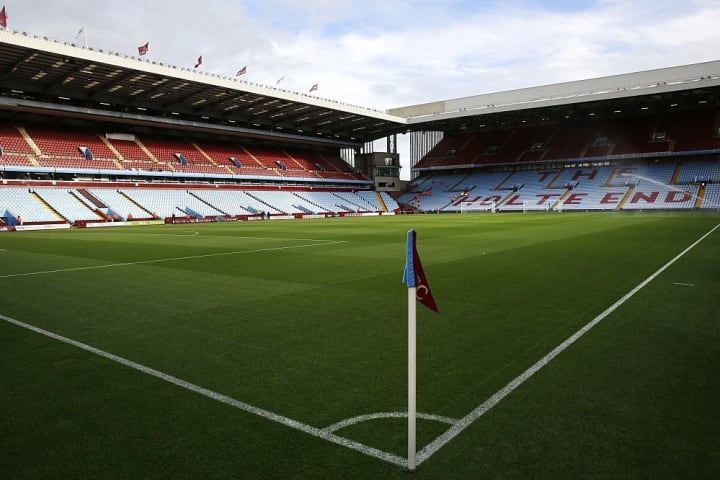 Villa and Liverpool are scheduled to meet at Villa Park