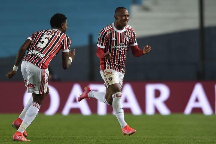 Marquinhos São Paulo Seleção Oitavas Libertadores