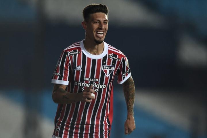 Emiliano Rigoni São Paulo Seleção Oitavas Libertadores