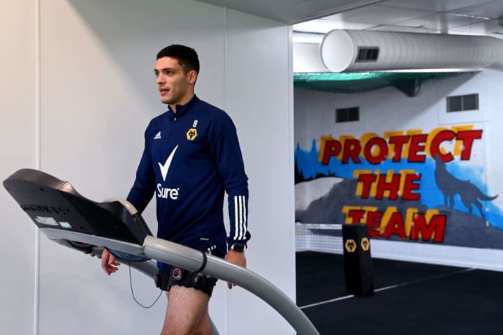 Jimenez has returned to training after his injury