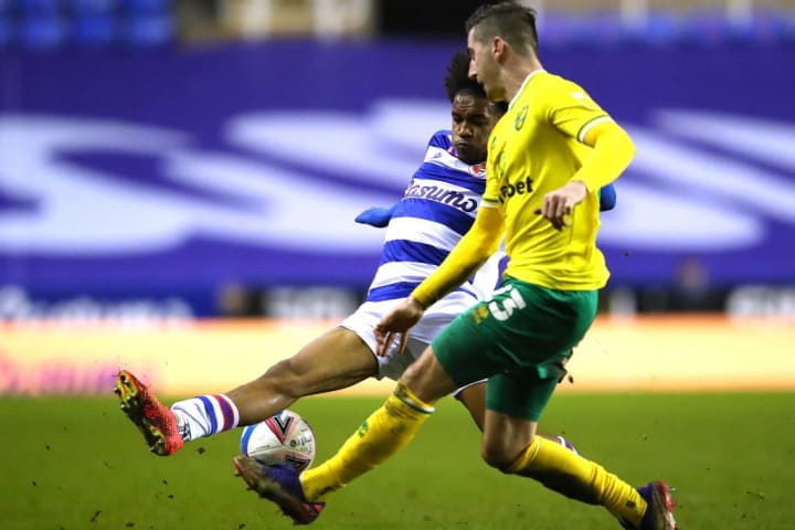 McLean in action for Championship leaders Norwich