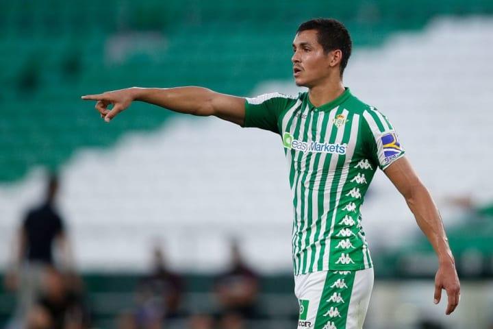 Real Betis' Aïssa Mandi.