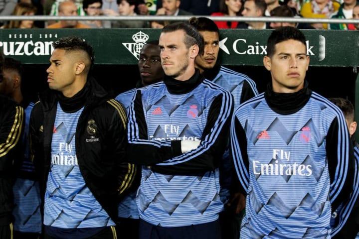 Areola, Gareth Bale, James Rodriguez, Mariano