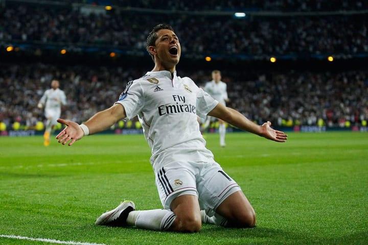 Javier Chicharito Hernández Transferência História Mercado Real Madrid Manchester United