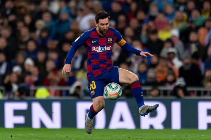Even a fruitless season can't stop Lionel Messi claiming the top spot