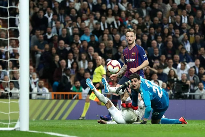 Rakitic netted the only goal of the game