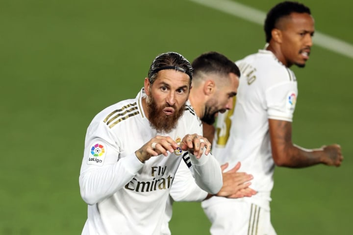 Ramos whipped out an interesting celebration and also has a glorious beard