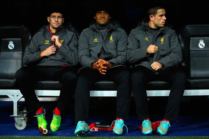 Liverpool's bench had a number of key players on it for their clash with Real