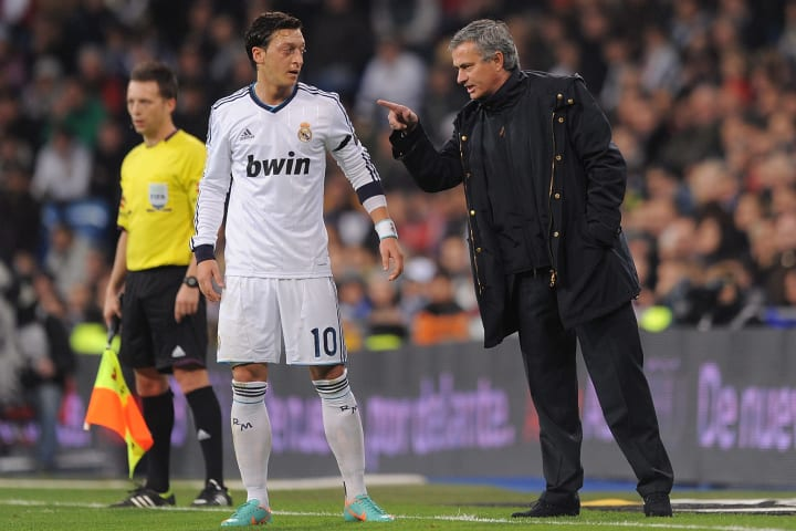 Jose Mourinho, Mesut Ozil