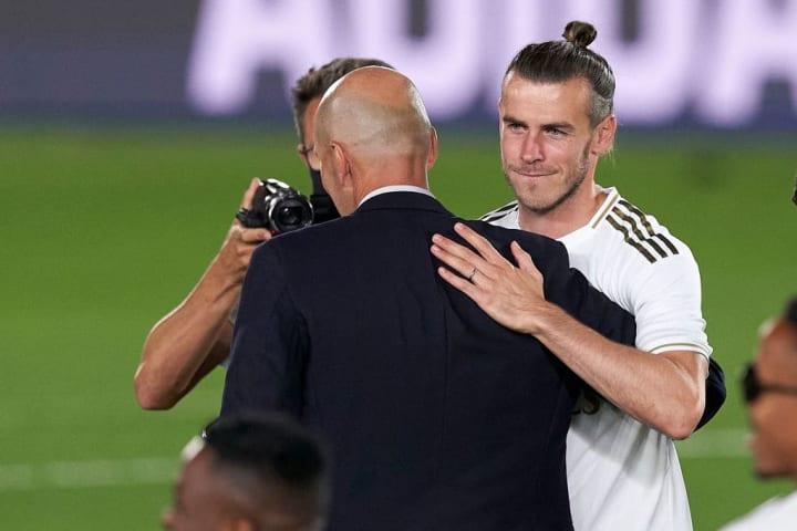 Gareth Bale, Zinedine Zidane, Manager of Real Madrid