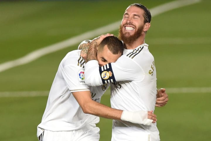 The ever-reliable Benzema and Ramos