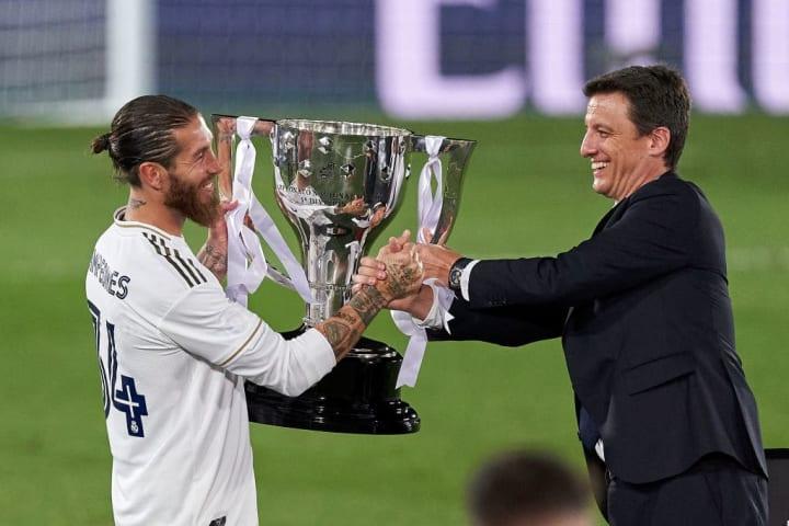 Sergio Ramos, Antonio Gomez-Reino