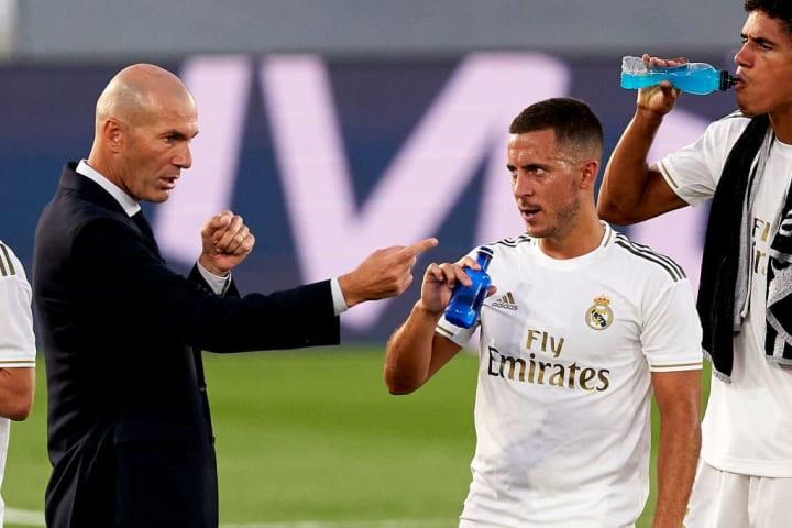 Eden Hazard, Zinedine Zidane