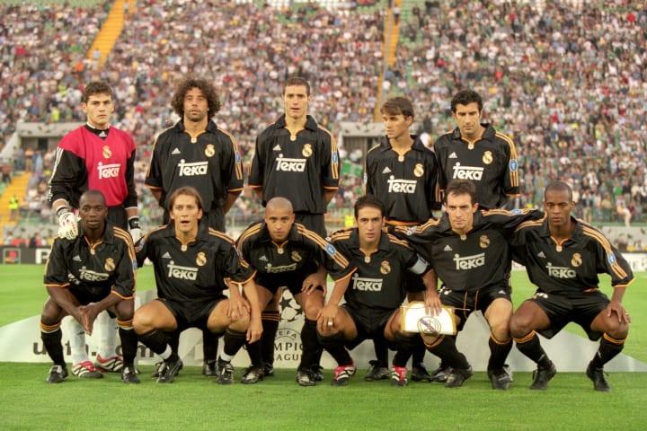 Real Madrid Team Line-Up