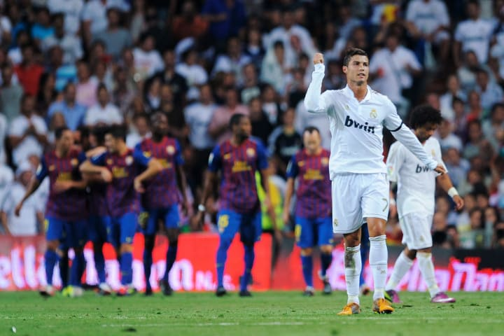 Los Blancos were unfortunate not to claim victory in the first leg