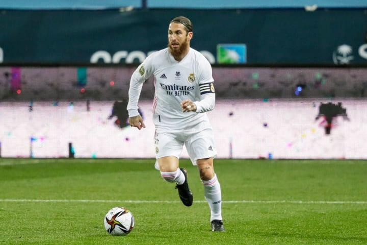Ramos is currently poised to leave Real for free in the summer