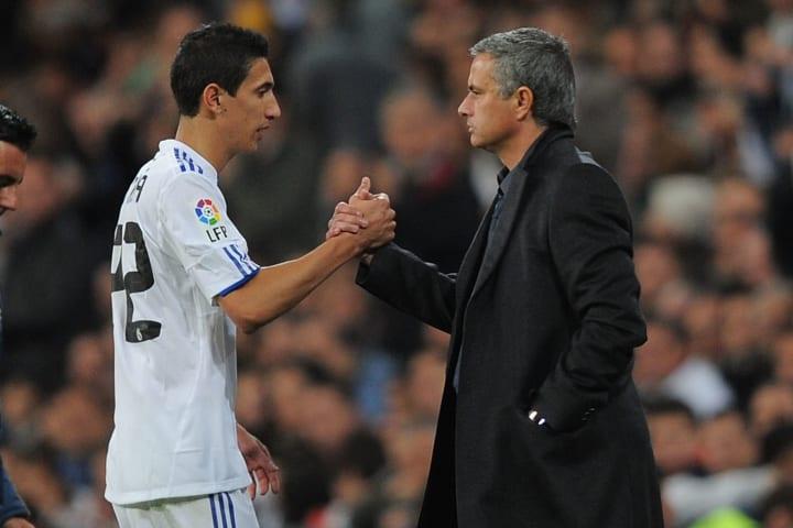 Jose Mourinho managed Di Maria at Real Madrid