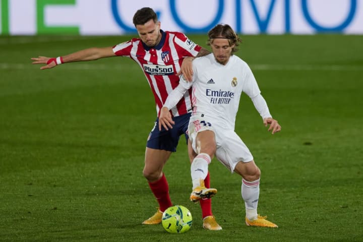Luka Modric is another who should keep his place after the derby win