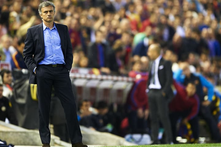 Mourinho masterminded Real's Copa del Rey final victory in 2011