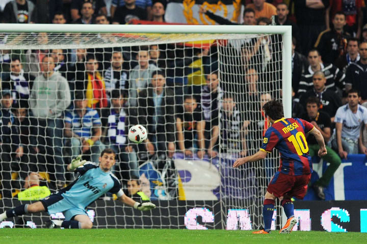 Lionel Messi, Iker Casillas