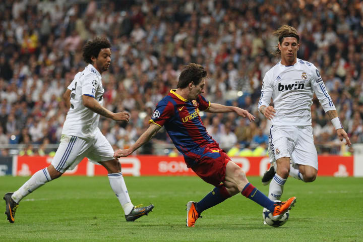 Lionel Messi tore Real's backline apart