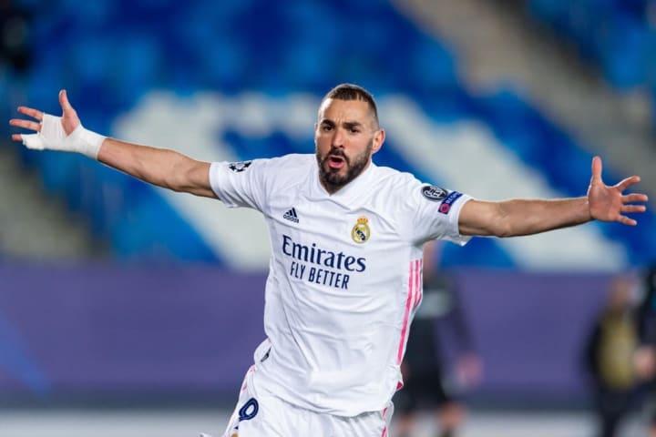 Benzema's brace saw Real past Borussia Monchengladbach