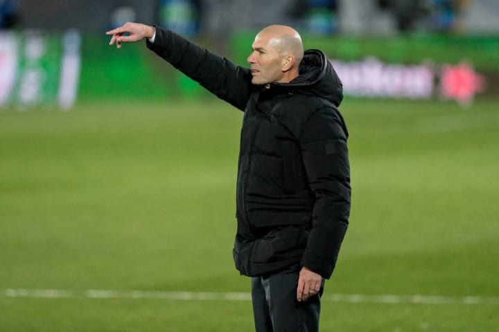 Progression to the last 16 of the Champions League eased the pressure on Zidane