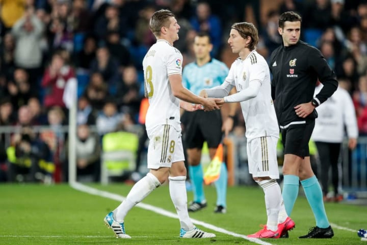 Toni Kroos and Luka Modric have been reliable performers in Real Madrid's midfield for more than five years