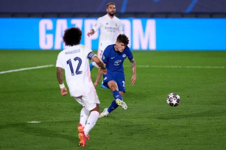 Christian Pulisic Marcelo Real Madrid Chelsea Eleição Semifinal Champions League