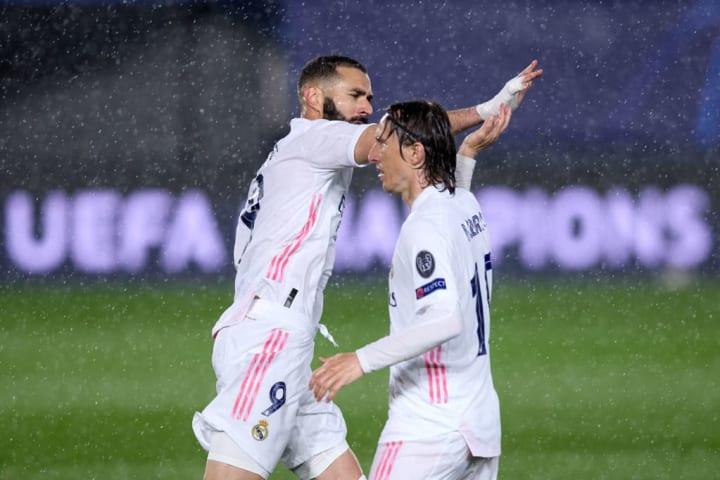 Karim Benzema, Luka Modric