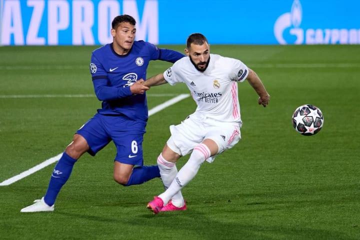 Karim Benzema Thiago Silva Marcelo Real Madrid Chelsea Eleição Semifinal Champions League