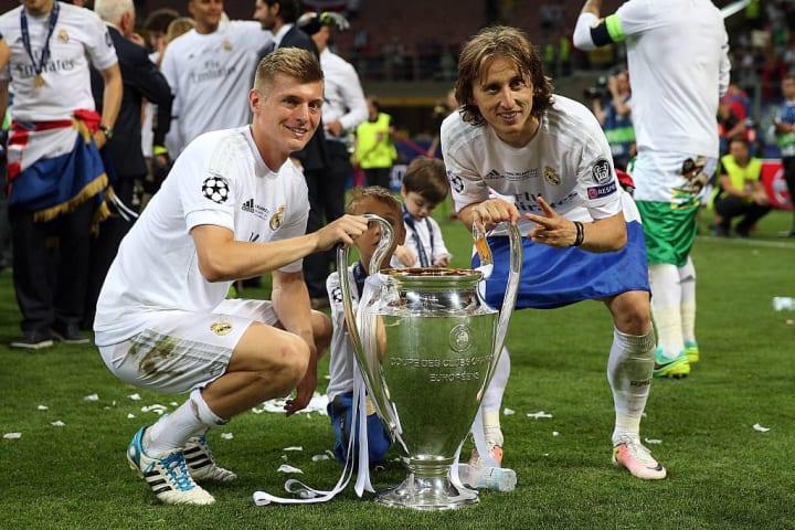 Toni Kroos, Luka Modric