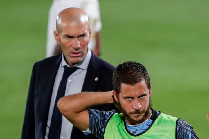 Eden Hazard trainiert aktuell unter seinem Vorbild.